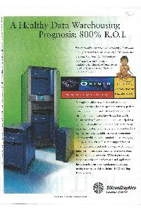 Silicon Graphics (SGI) - A healthy Data Warehousing prognosis: 800& R.O.I.