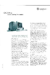 Silicon Graphics (SGI) - Octane Power Desktop Workstation