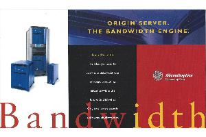 Silicon Graphics (SGI) - Origin Server The bandwith engine