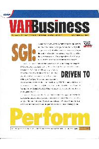 Silicon Graphics (SGI) - VAR Business