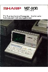 MZ-80B The new-era Personal Computer