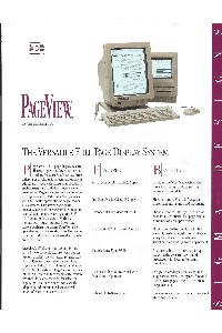 PageView for the Macintosh SE