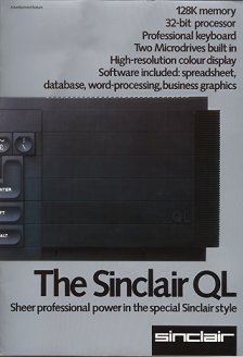 Sinclair Ltd. - The Sinclair QL