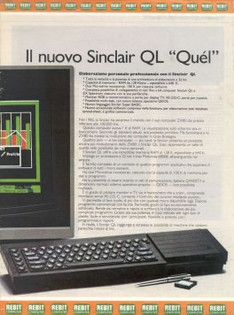 Sinclair Ltd. - Il nuovo Sinclair QL 'Que'l'