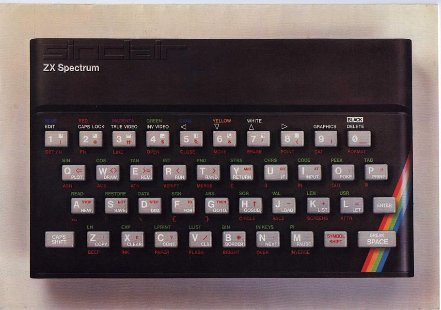 Sinclair Ltd. - Sinclair ZX Spectrum