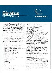 Stratus Computer Inc. - Word processing