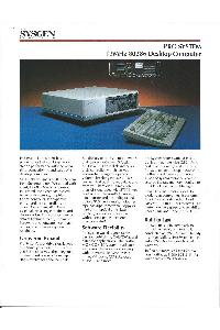 Sysgen Inc. - Pro system - 12Mhz 80286 Deskyop computer