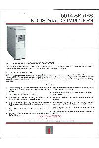 Texas Microsystems Inc - 5014 Series Industrial computers