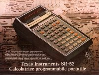 Texas Instruments Inc. - Texas Instruments SR-52