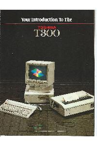 Your introduction to Toshiba T300