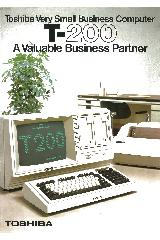 Toshiba - T-200 A valuable business partner