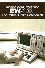 Toshiba - Toshiba Word Processor EW-100 the perfect office companion