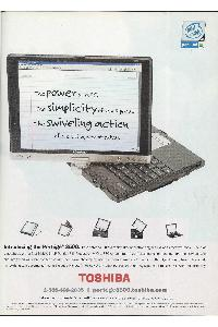 Toshiba - The power of a PC