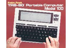 Tandy Corp. - TRS-80 Portable computer Model 100
