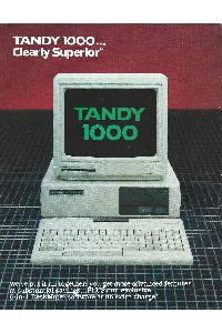 Tandy Corp. - Tandy 1000 - Clearly superior ...