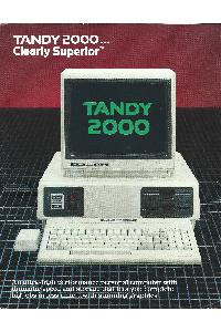 Tandy Corp. - Tandy 2000 - Clearly superior ...