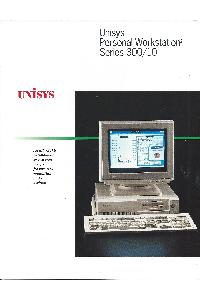 Unisys - Unisys Personal Workstation2 Series 300/10