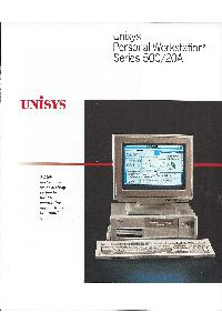 Unisys - Unisys Personal Workstation2 Series 500/20A