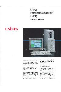 Unisys - Unisys Personal Workstation2 Family PW2 Series 500/25A