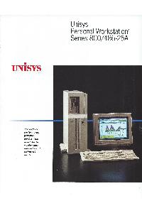 Unisys - Unisys Personal Workstation2 Family PW2 Series 400/486-25A