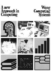 Wang Laboratories Inc. - A New Approach in Computing