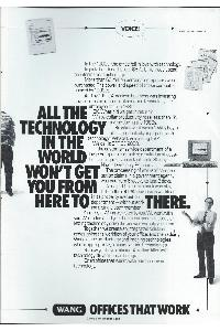 Wang Laboratories Inc. - All the technology in the world won't get you from here to there