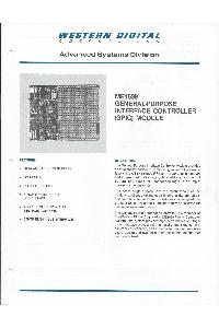 Western Digital Corporation - ME1639 General purpose interface controller