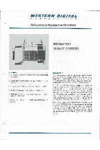 Western Digital Corporation - ME1650/1651 10-slot chassis