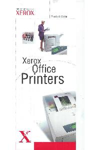 Xerox Corp. - Product Guide 2002