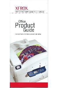 Xerox Corp. - Xerox Office Product Guide