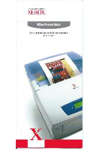 Xerox Corp. - Office products guide