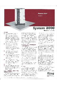 Zilog - System 8000 model 21 and 31
