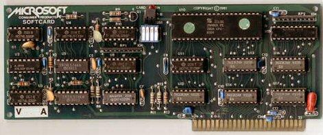 Microsoft CP/M card for Apple II