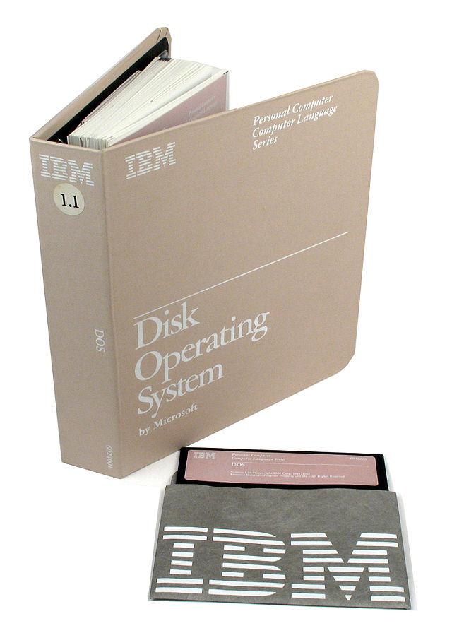 IBM MS-DOS 1.1