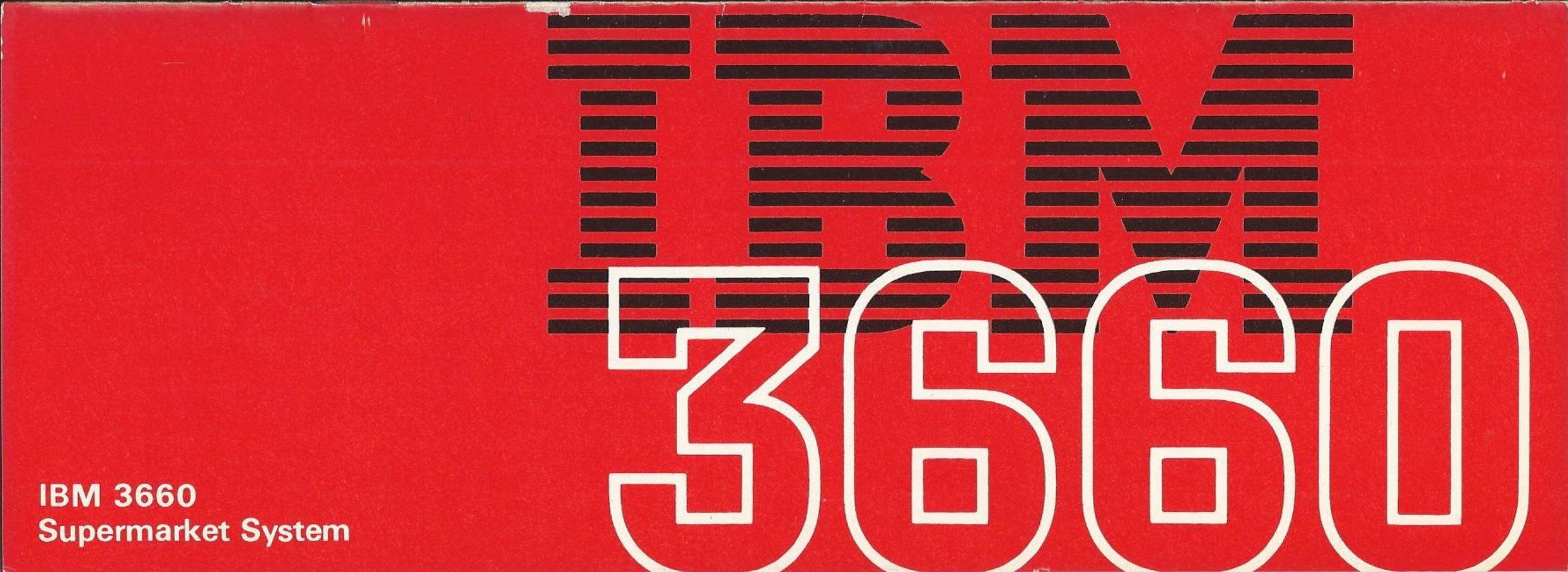 IBM 3660