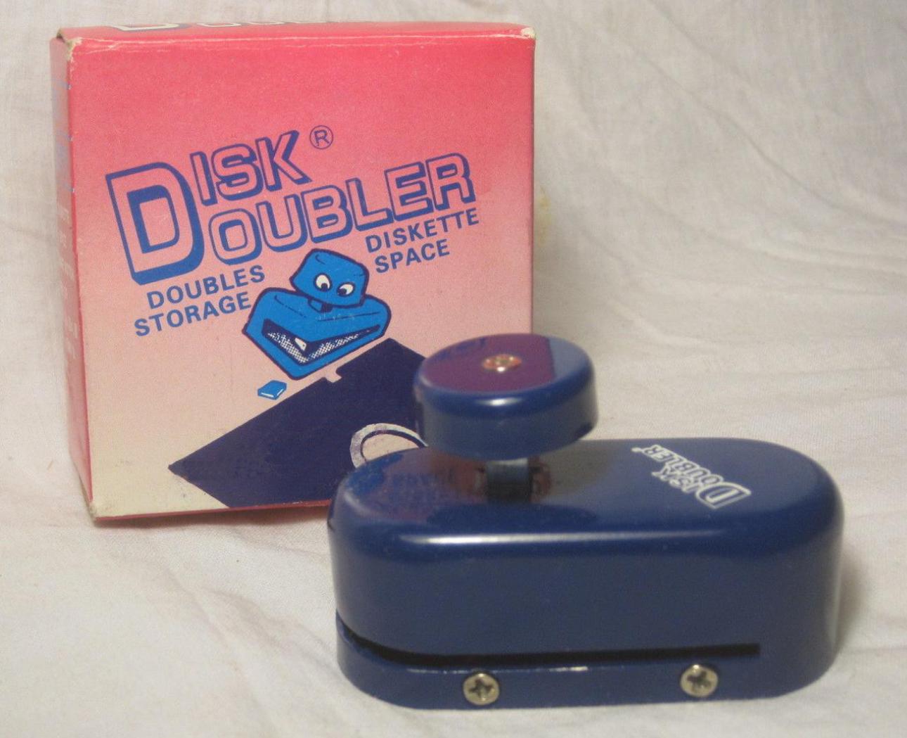 Floppy disk doubler