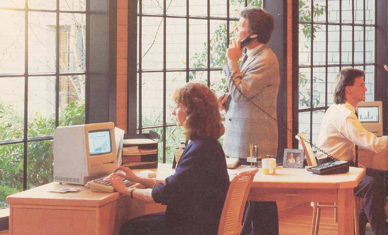 1000BiT - Ufficio con Macintosh
