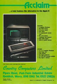 Country Computers ltd