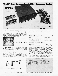 MITS (Micro Instrumentation and Telemetry Systems)
