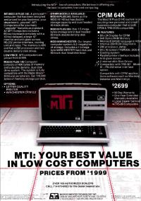 Microcomputer Technology Inc. (MTI)