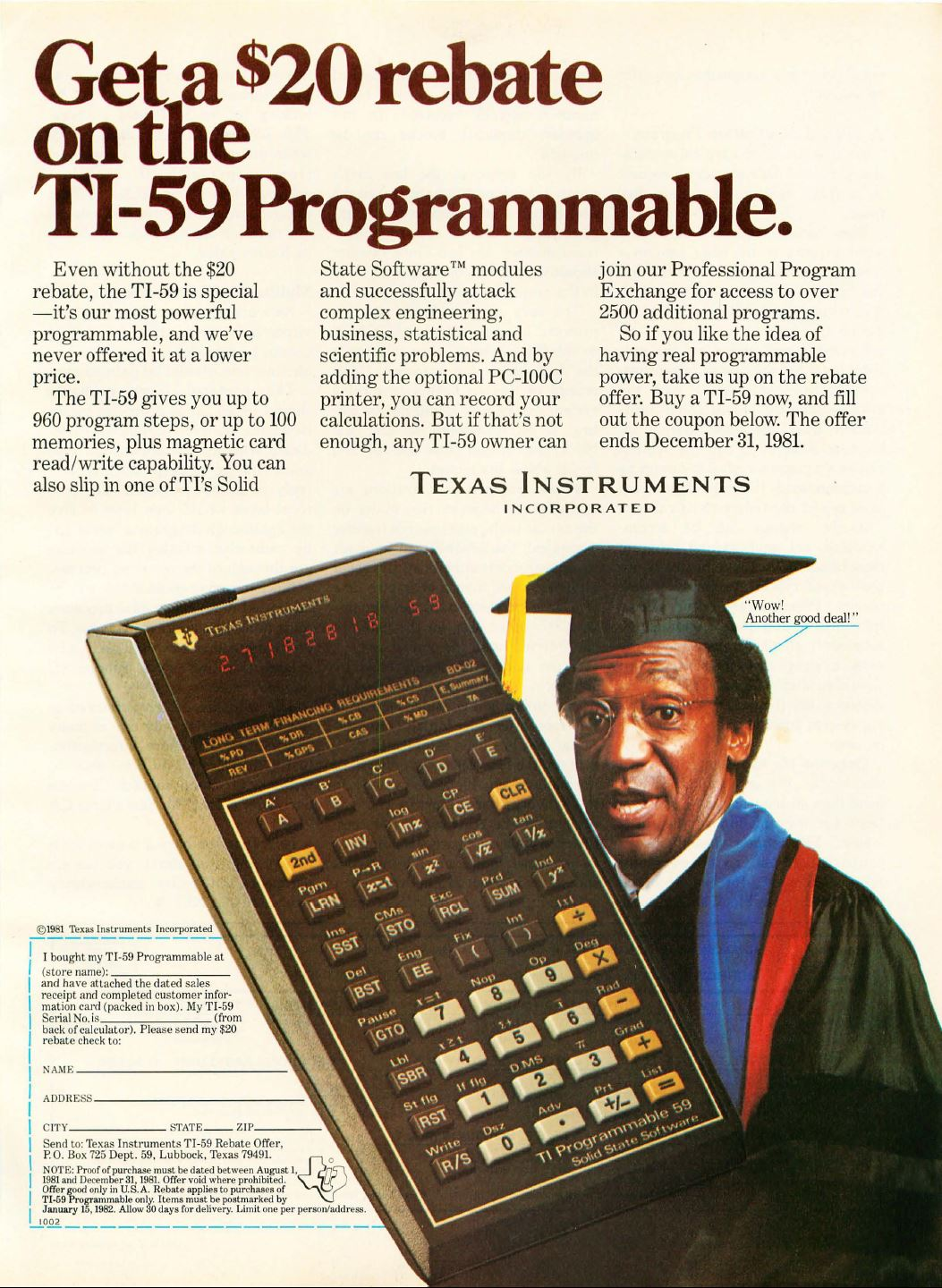 Ti-59 Programmable