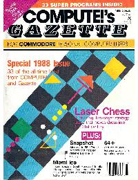 Compute! Gazzette - 1988 Special issue