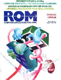 ROM Computer application for living - 1977/09