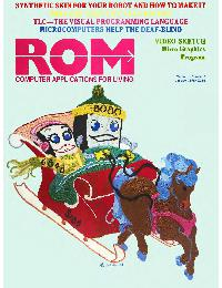 ROM Computer application for living - 1978/01