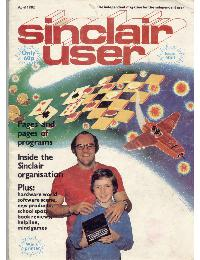 Sinclair User Magazine - 1982/4