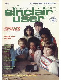Sinclair User Magazine - 1982/07
