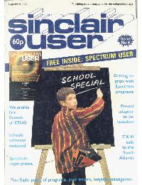 Sinclair User Magazine - 1982/09