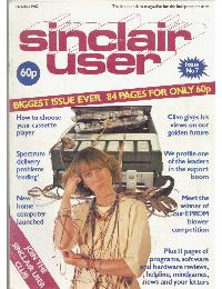 Sinclair User Magazine - 1982/10