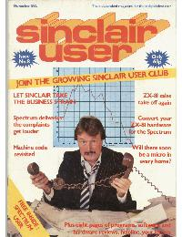 Sinclair User Magazine - 1982/11