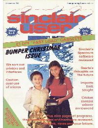 Sinclair User Magazine - 1982/12